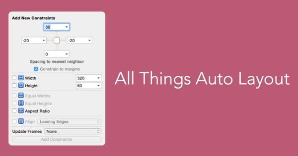 关于AutoLayout原生Content Hugging和Content Resistance小研究